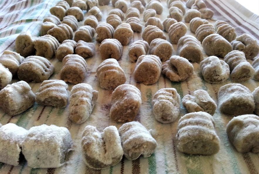 Gnocchi di patate viola su crema di zucca - Step 3 - Immagine 1