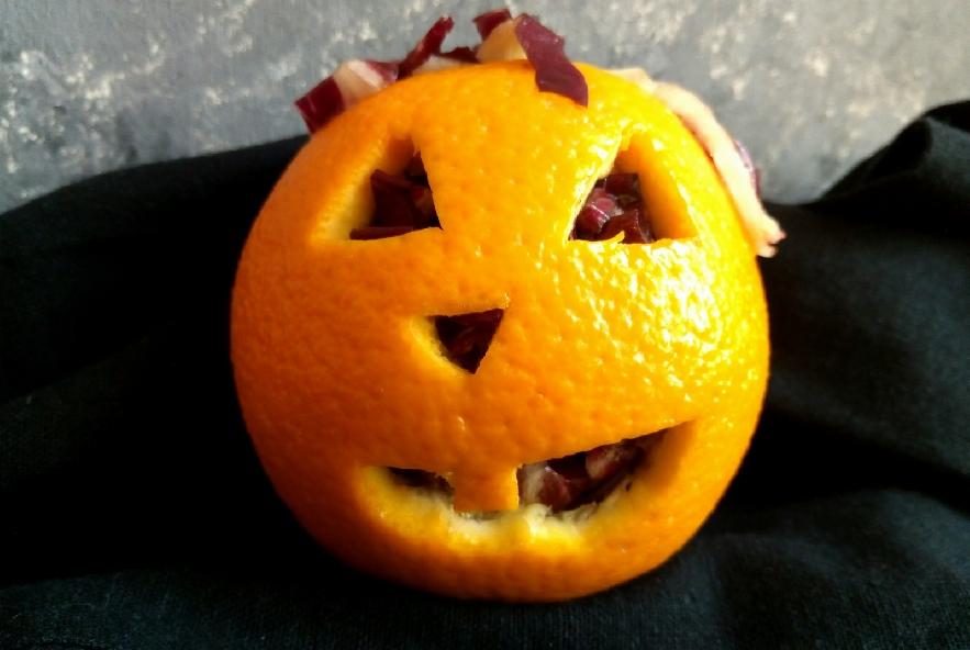 Jack o'salad nell'arancia - Step 4 - Immagine 1