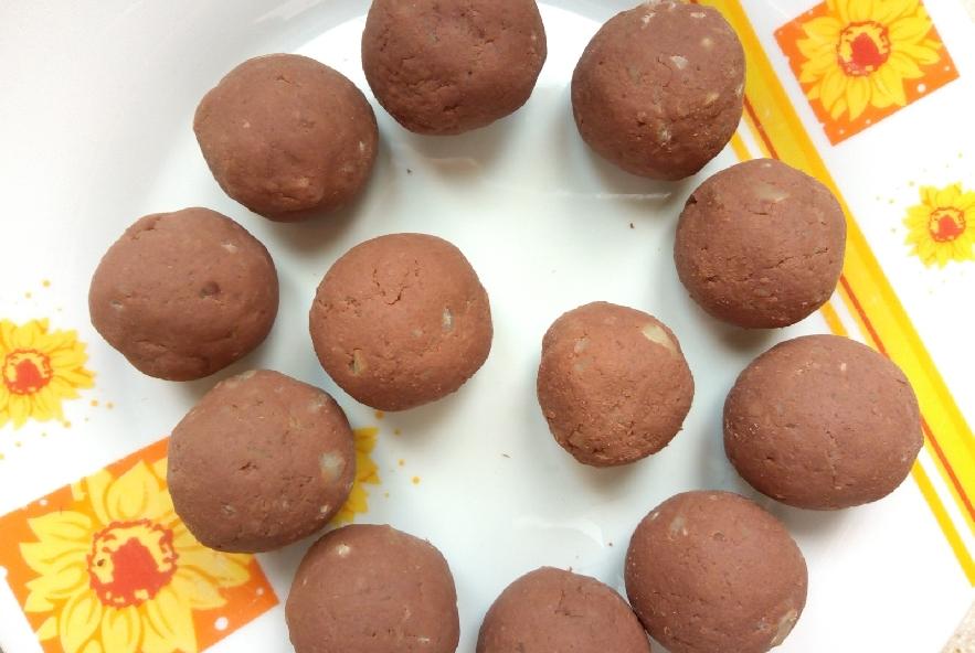 Occhi di strega alle castagne e cioccolato - Step 3 - Immagine 1