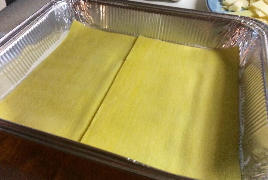 Lasagne con melanzana, sedano rapa e caciocavallo - Step 4 - Immagine 2