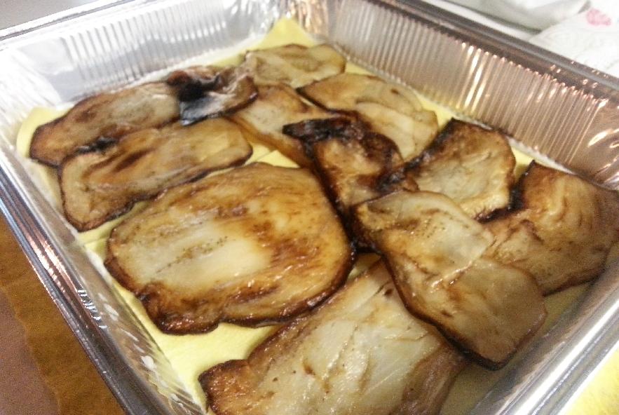 Lasagne con melanzana, sedano rapa e caciocavallo - Step 4 - Immagine 3