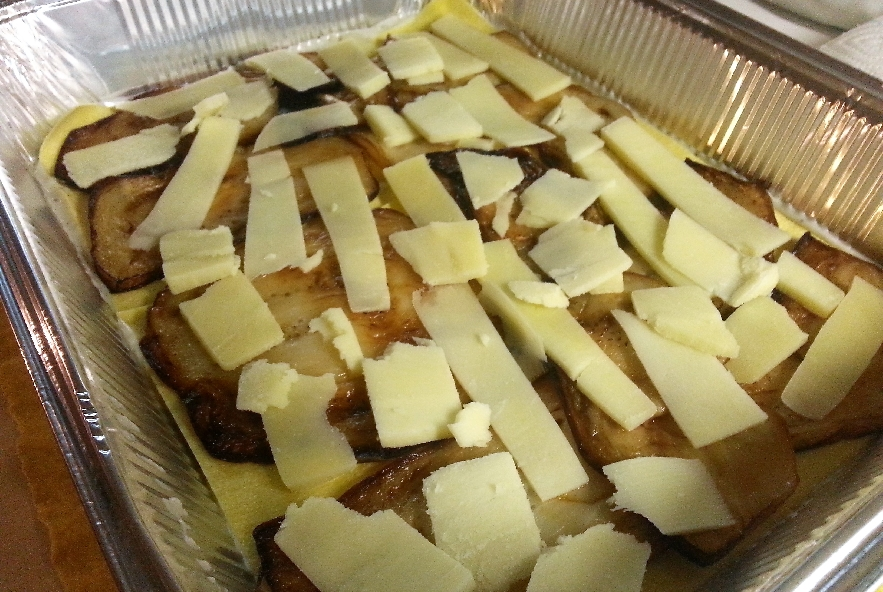 Lasagne con melanzana, sedano rapa e caciocavallo - Step 4 - Immagine 4