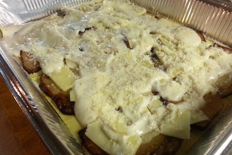 Lasagne con melanzana, sedano rapa e caciocavallo - Step 4 - Immagine 5
