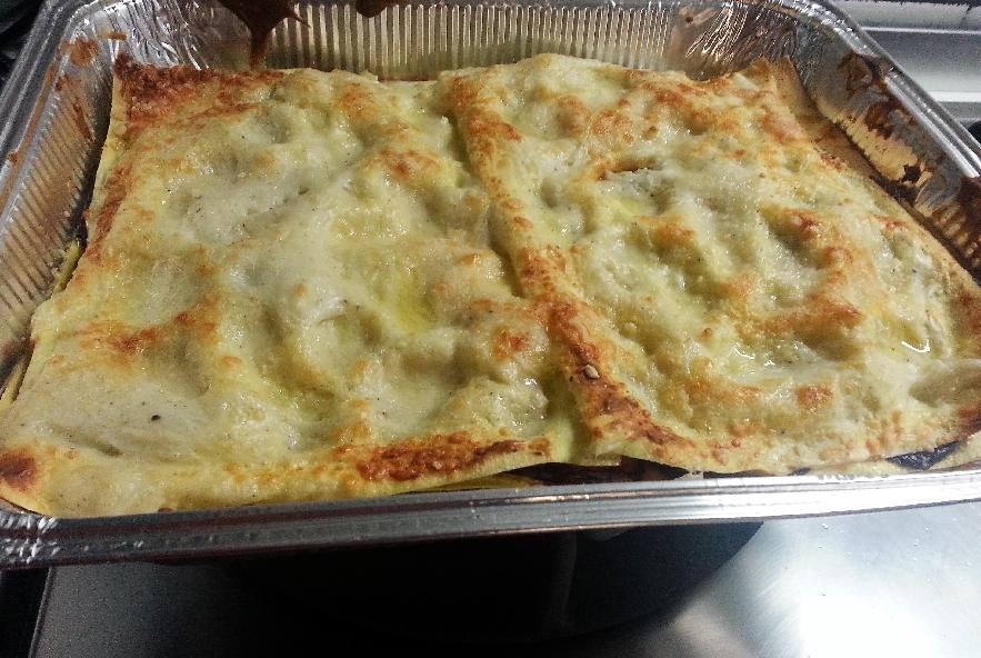 Lasagne con melanzana, sedano rapa e caciocavallo - Step 4 - Immagine 9