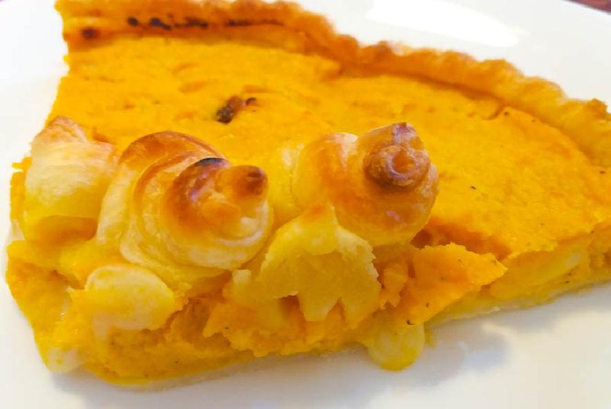 Torta salata alla zucca con cuore di formaggio - Step 9 - Immagine 1