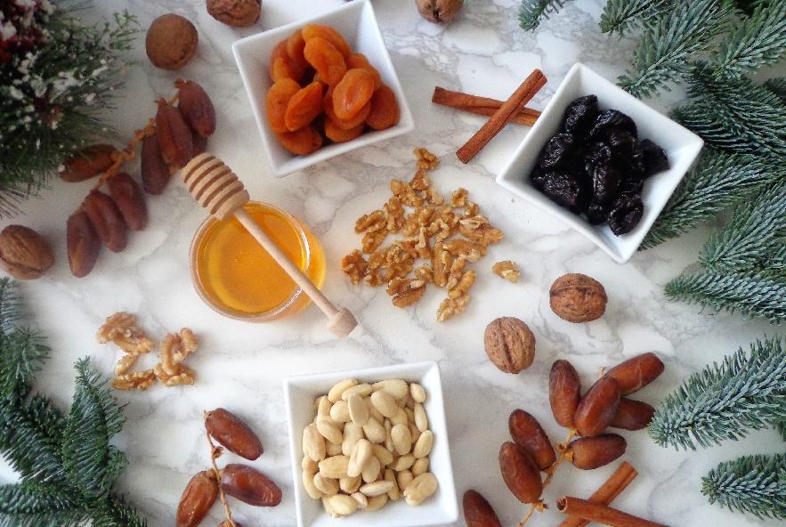 Palline di frutta secca, miele e cannella - Step 1 - Immagine 1