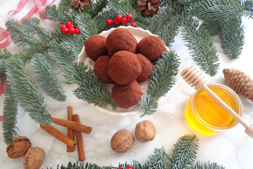 Palline di frutta secca, miele e cannella - Step 2 - Immagine 1
