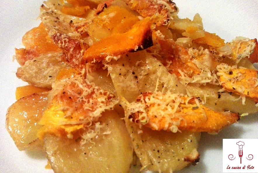 Pasticcio di zucca e patate - Step 5 - Immagine 1