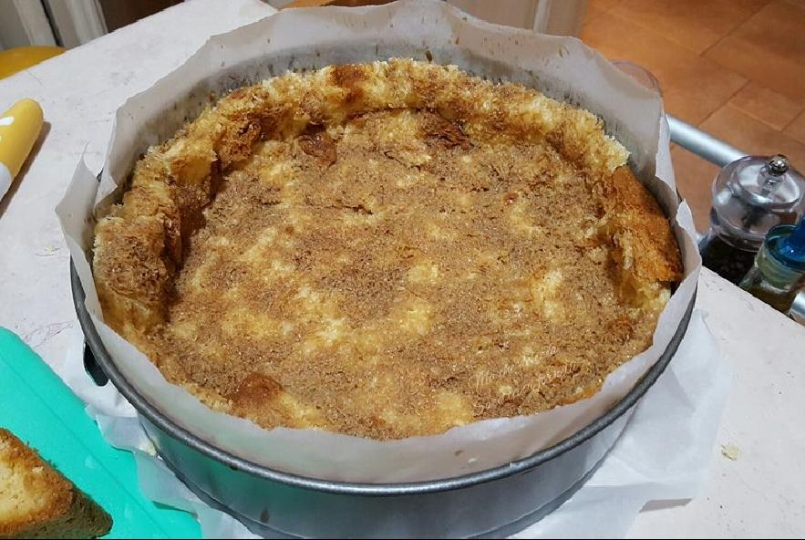 Crumble di pandoro con crema e nutella - Step 3 - Immagine 1