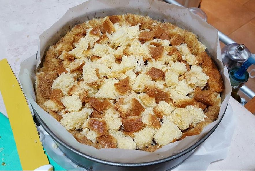 Crumble di pandoro con crema e nutella - Step 5 - Immagine 1