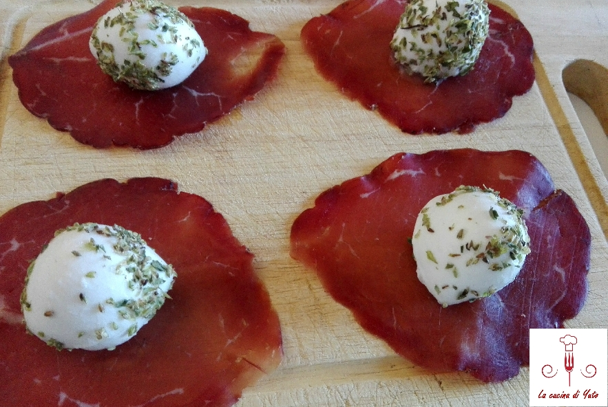 Ciuffetti di bresaola - Step 1 - Immagine 1