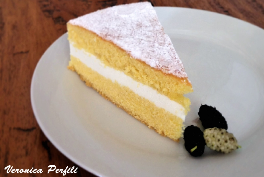 Torta paradiso con crema di latte e miele - Step 5 - Immagine 1