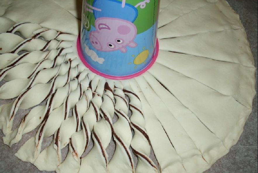 Girasole di nutella - Step 3 - Immagine 1