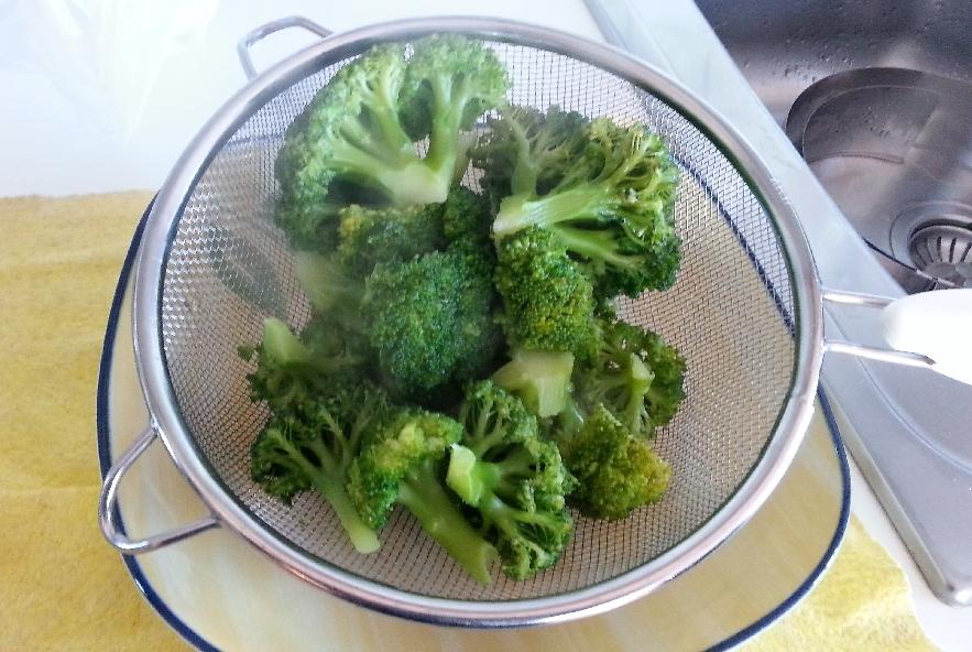 Bavette con polipetti e broccoli affogati - Step 1 - Immagine 3