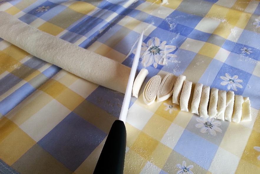 Tagliatelle con neonato e salsa alla curcuma - Step 1 - Immagine 5