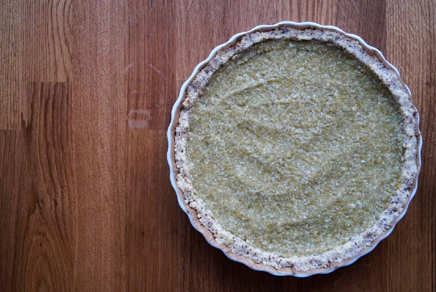 Tarte di miglio con crema di piselli ed asparagi - Step 4 - Immagine 1