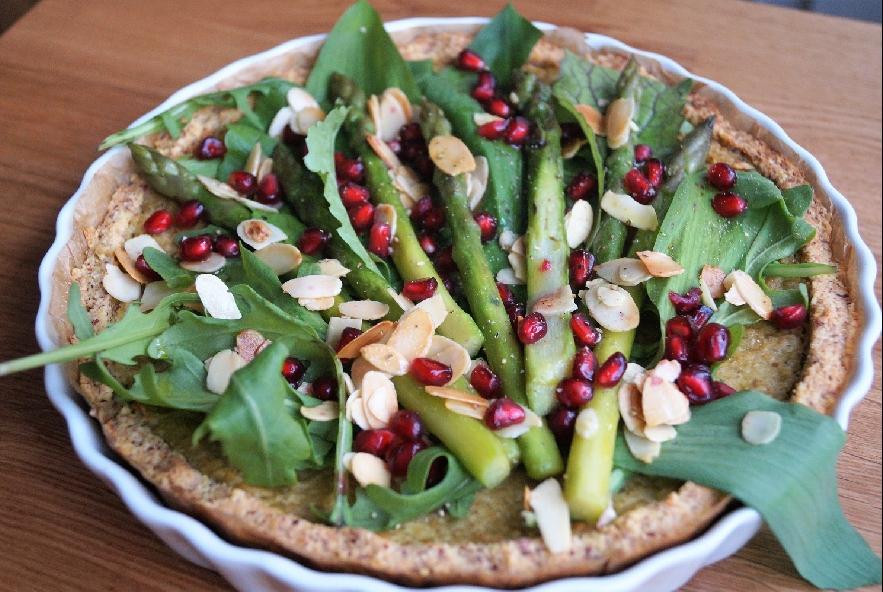 Tarte di miglio con crema di piselli ed asparagi - Step 8 - Immagine 1