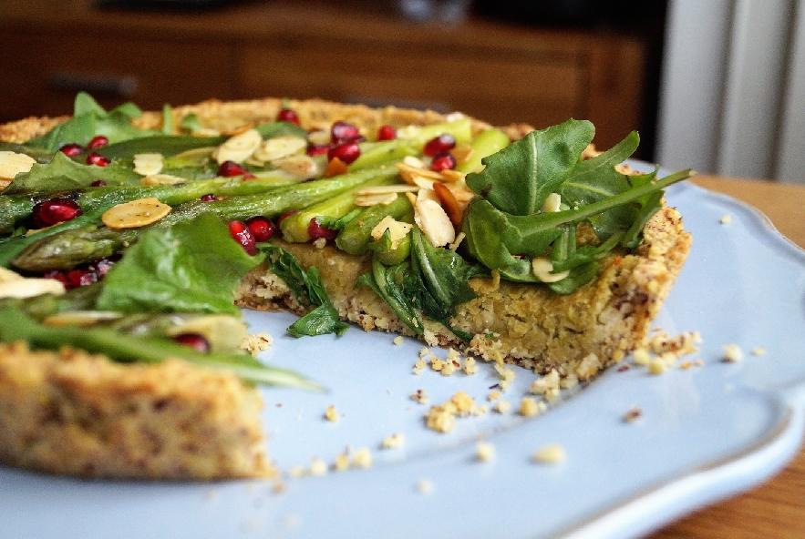 Tarte di miglio con crema di piselli ed asparagi - Step 9 - Immagine 1