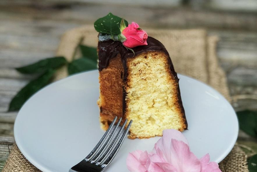 Bundt cake glassato al cioccolato fondente - Step 2 - Immagine 1