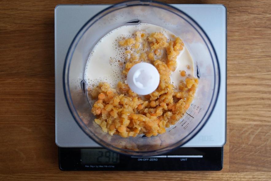 Zuppa piccante di lenticchie e funghi enoki vegan - Step 2 - Immagine 1