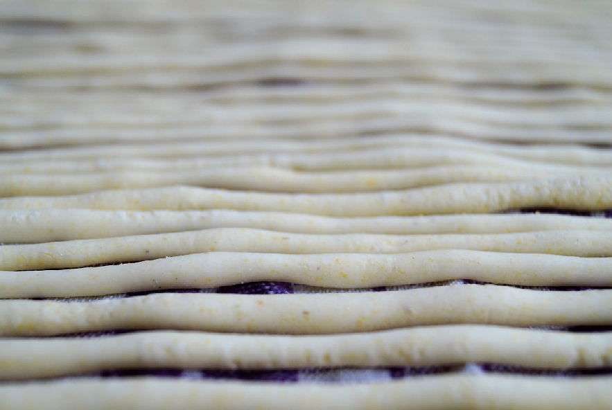 Pici al limone con crema di fave e semi di canapa - Step 5 - Immagine 1