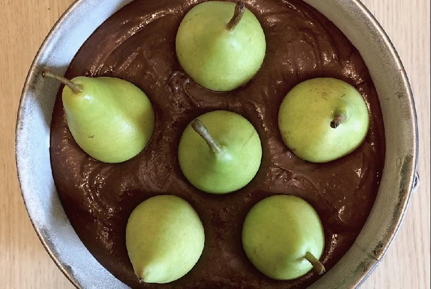 Torta cioccolato, pere e cannella - Step 2 - Immagine 1