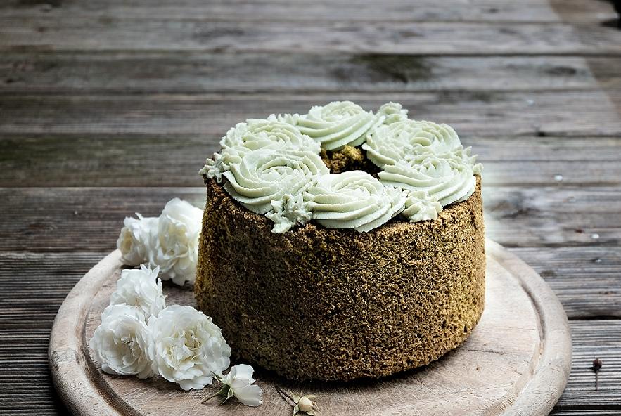 Chiffon cake al tè matcha - Step 3 - Immagine 2