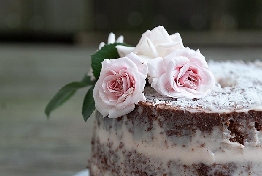 Naked chiffon cake al cacao, cocco e rum - Step 4 - Immagine 1