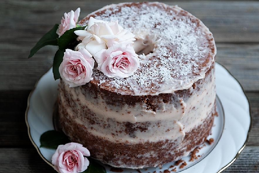 Naked chiffon cake al cacao, cocco e rum - Step 4 - Immagine 2