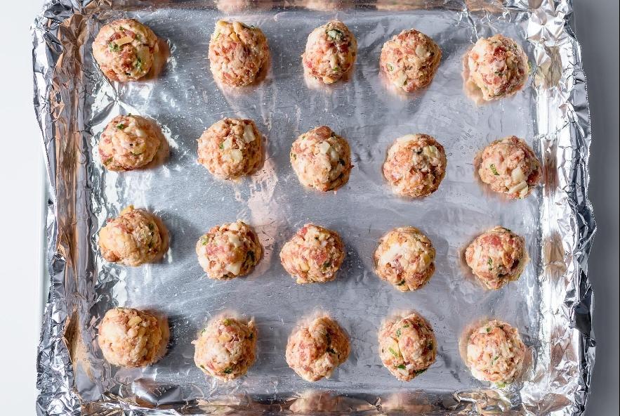 Polpettine di salsiccia al forno - Step 3 - Immagine 1