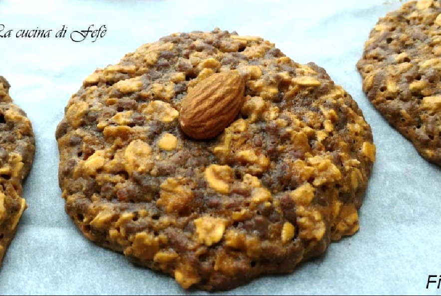 Cookies con fiocchi di avena e cioccolato - Step 5 - Immagine 1