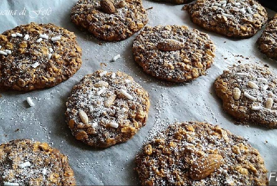 Cookies con fiocchi di avena e cioccolato - Step 6 - Immagine 1