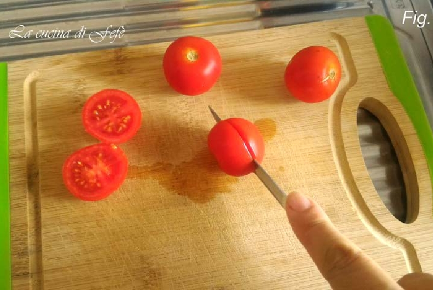 Pomodorini farciti gratinati - Step 1 - Immagine 1