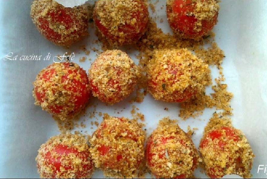 Pomodorini farciti gratinati - Step 7 - Immagine 1