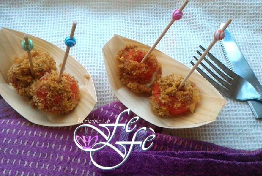 Pomodorini farciti gratinati - Step 8 - Immagine 1