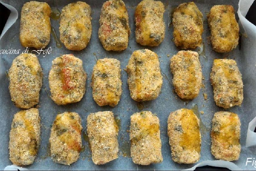 Crocchette di patate con portulaca e peperoni - Step 10 - Immagine 1