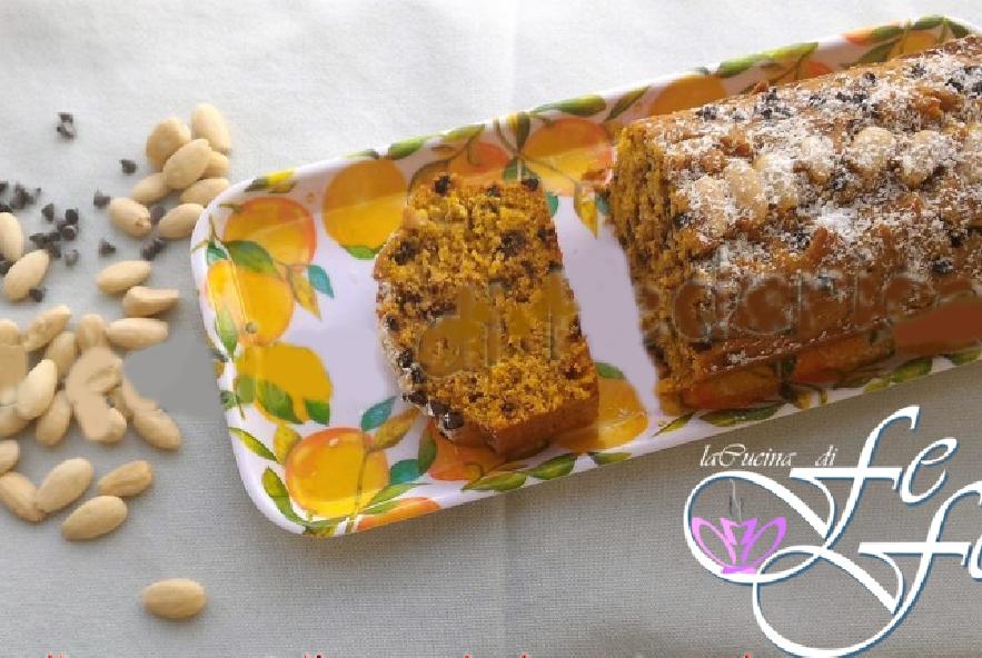 Plumcake di zucca, mandorle e cioccolato - Step 6 - Immagine 1