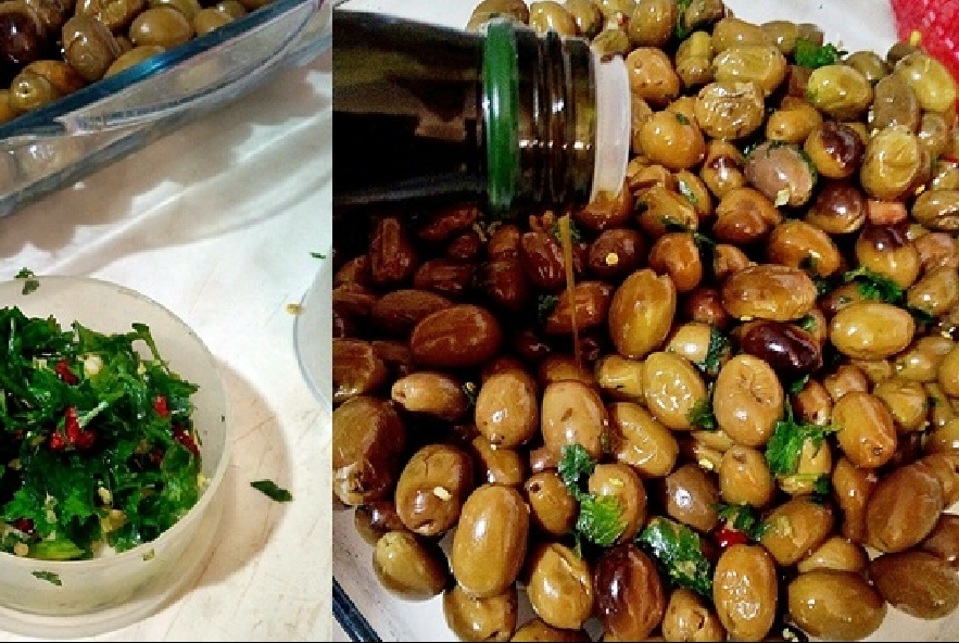 Olive farcite antipasto vegano gluten free - Step 4 - Immagine 1