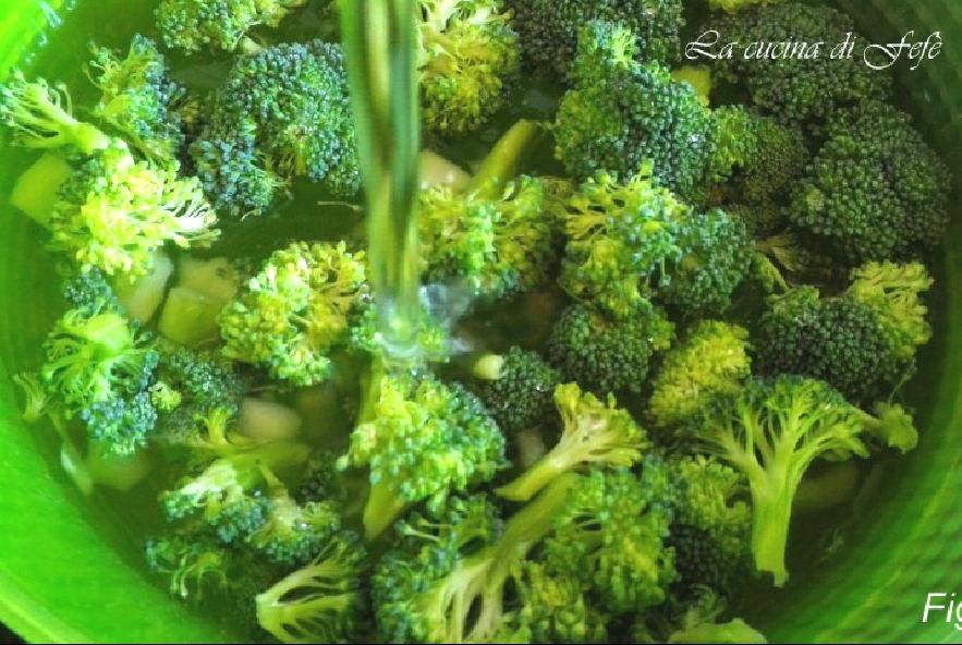 Zuppa di cereali e ceci in crema di broccoli - Step 2 - Immagine 1