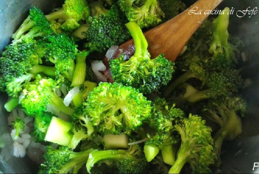Zuppa di cereali e ceci in crema di broccoli - Step 4 - Immagine 1