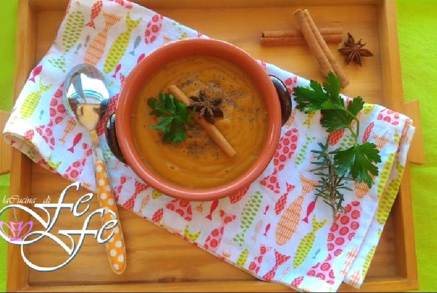 Vellutata di carote, zenzero e cannella - Step 7 - Immagine 1