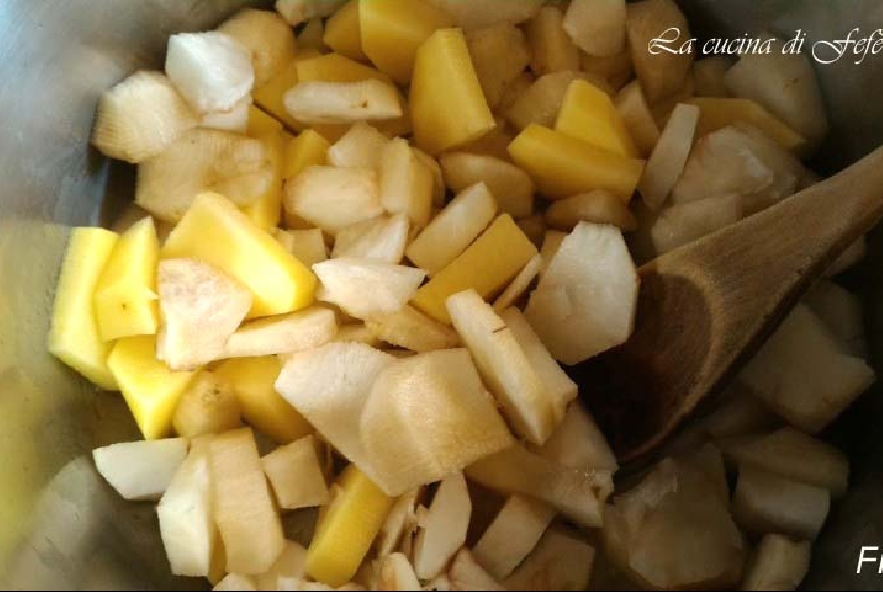Quiche con patate, topinambur e tuma - Step 3 - Immagine 1