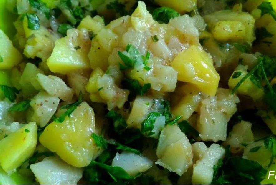 Quiche con patate, topinambur e tuma - Step 6 - Immagine 1