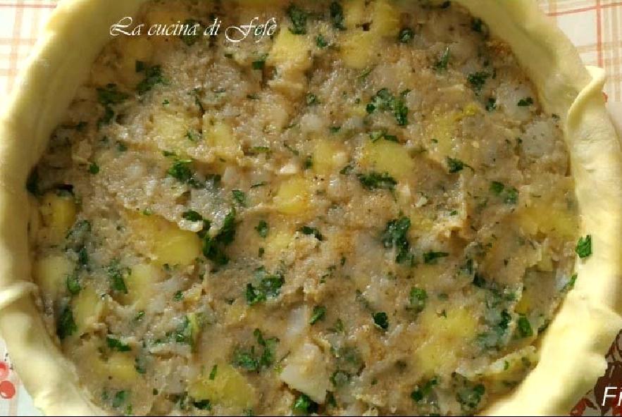 Quiche con patate, topinambur e tuma - Step 7 - Immagine 1