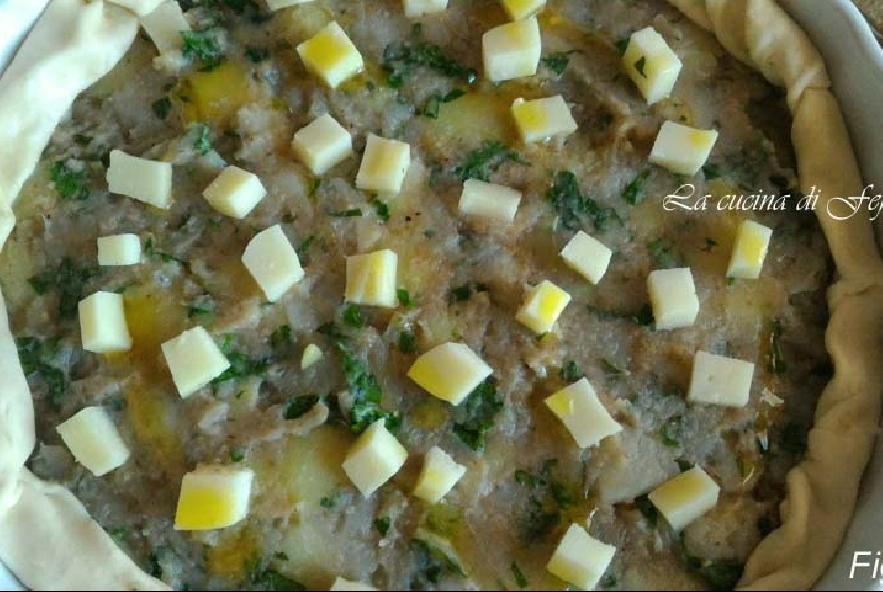 Quiche con patate, topinambur e tuma - Step 8 - Immagine 1