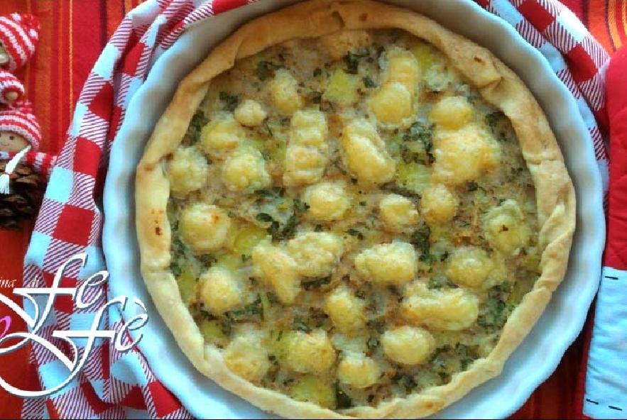 Quiche con patate, topinambur e tuma - Step 9 - Immagine 1