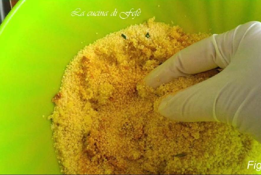 Cous cous con zucca, radicchio e mandorle - Step 1 - Immagine 1