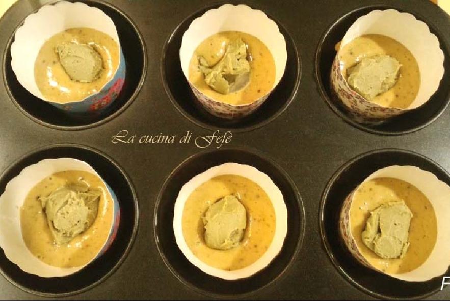 Muffin al pistacchio con farina di farro - Step 7 - Immagine 1