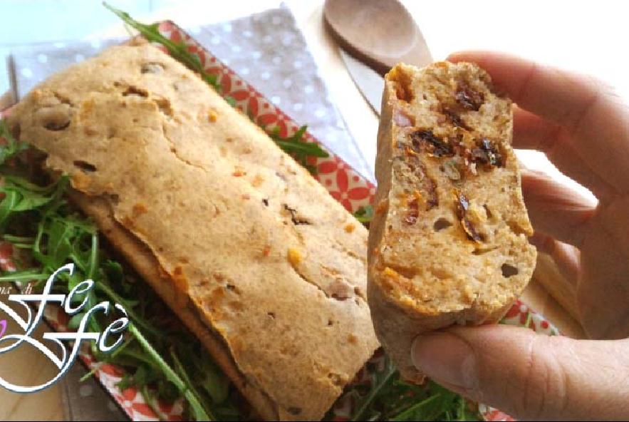 Plumcake di farro alle olive e pomodorini secchi - Step 5 - Immagine 1