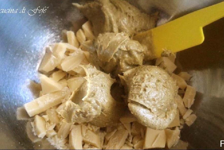 Crostata morbida al cacao con ganache di pistacchi - Step 4 - Immagine 1